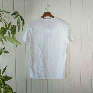 Zara Shirts - Zara white short sleeve cowboy print tee t shirt S